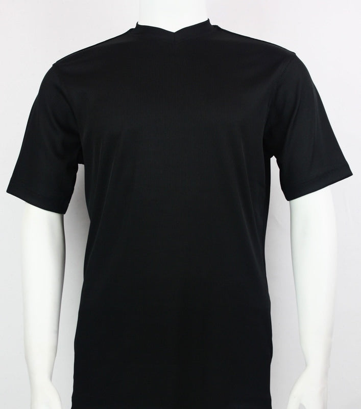 Bassiri S/S V-Neck T-Shirt (Black)