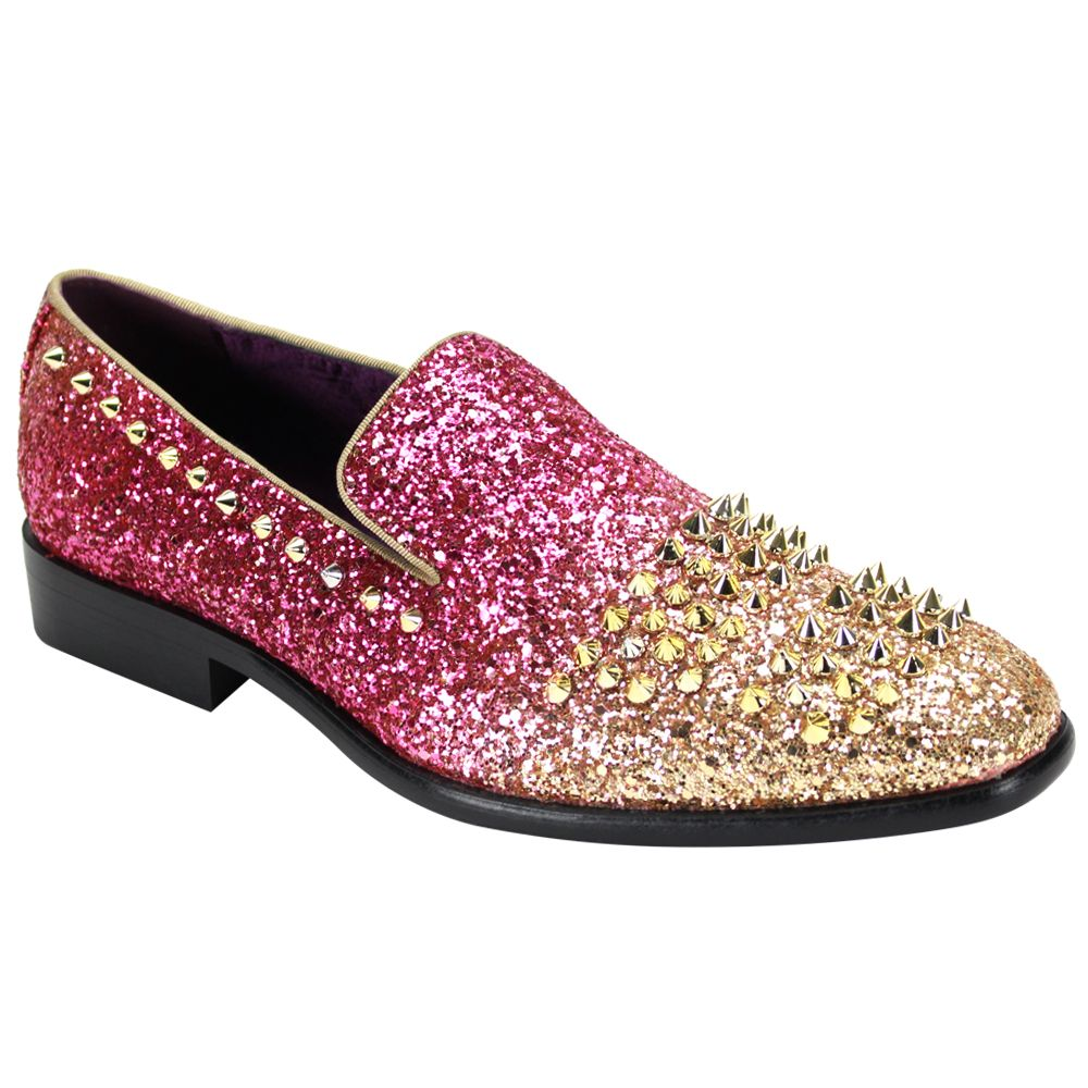 After Midnight Formal Shoe 6860 Fuxia/Gold