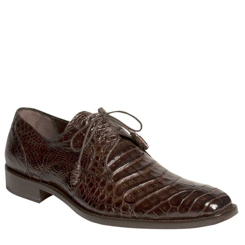 Mezlan - ANDERSON Crocodile - Dark Brown - Style # 13584-F