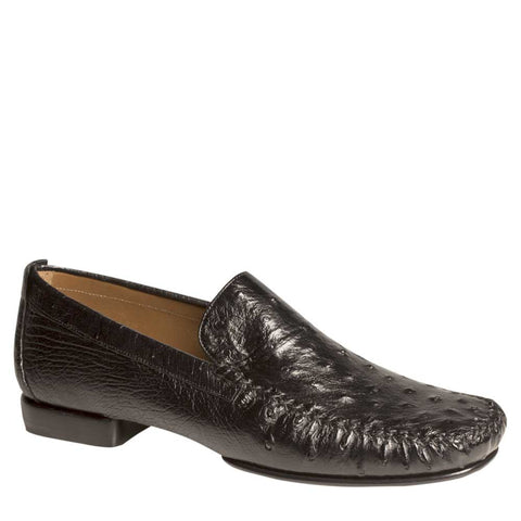 Mezlan - ROLLINI Ostrich Quill - Black - Style # 1856-S