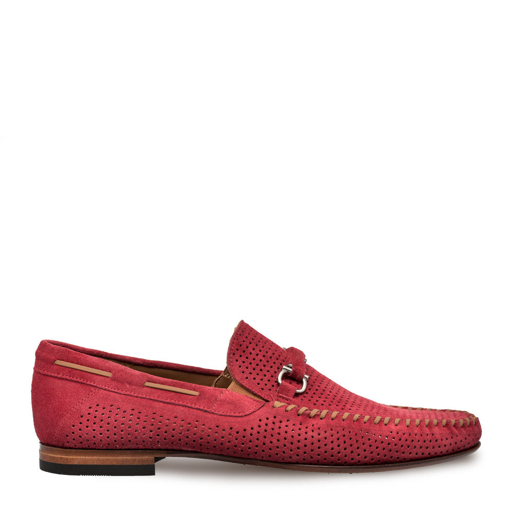 Mezlan - MARCELLO Suede - Red - Style # 7272