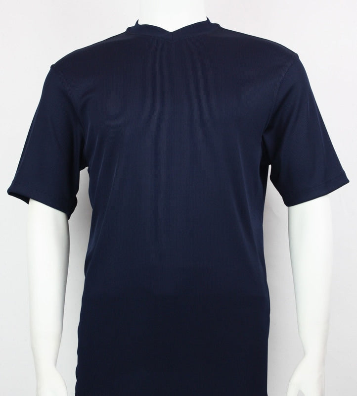 Bassiri S/S V-Neck T-Shirt (Navy)