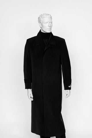 Carmel Zhao Duster Coat Black SEATTLE