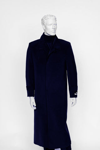 Carmel Zhao Duster Coat Navy SEATTLE
