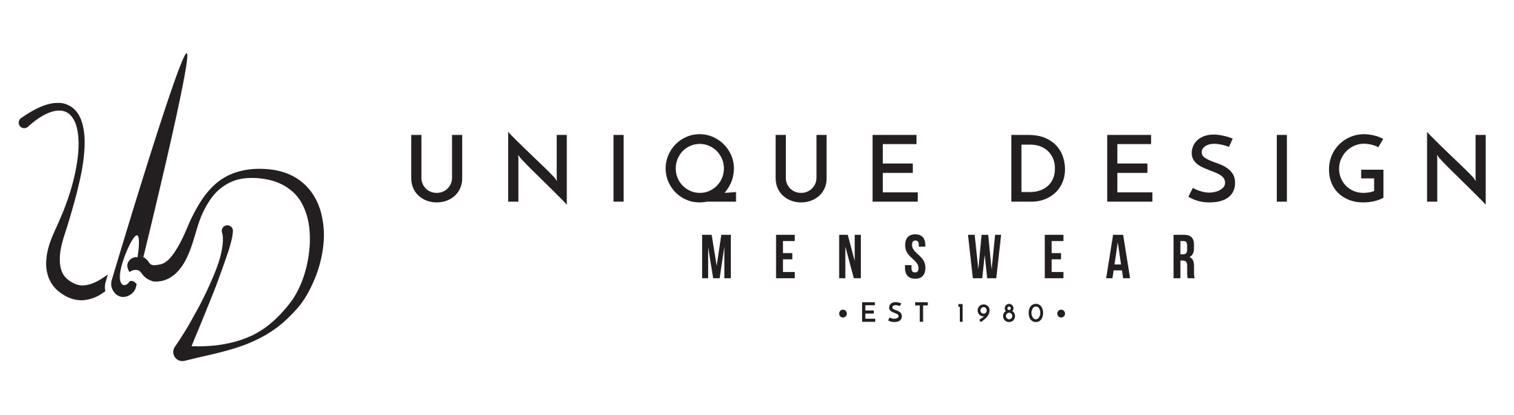 Unique Designs Menswear Logo