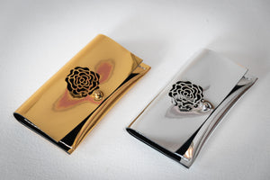 Mini Credit Card Rose Clutches