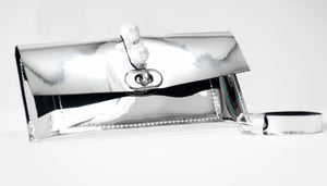 Faux Leather - Pearl Belt Bag