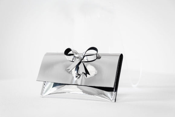 Mini Bow Credit Card Clutch