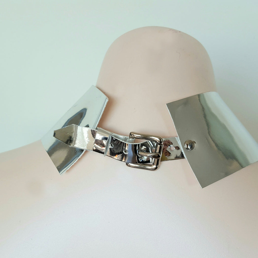 Faux Leather Butterfly Harness with mini clutch