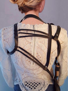 Faux Leather - Harness Purse