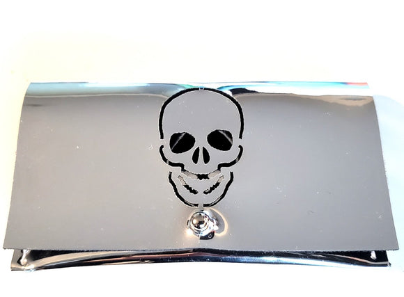 Mini Skull Credit Card Holder