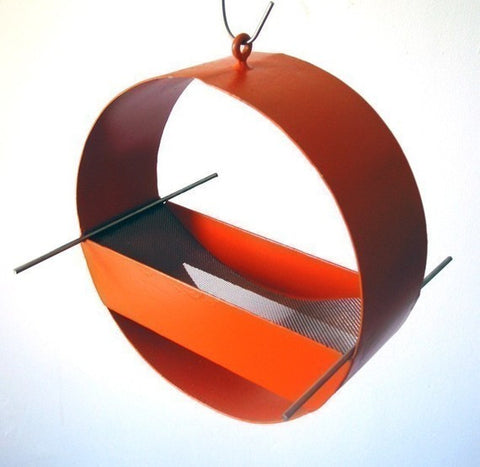 Charm Modern Bird Feeder / Orange