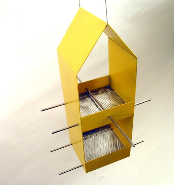 Home Modern Bird Feeder / Yellow