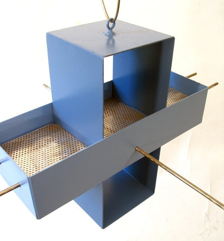Plus Modern Bird Feeder / Spa Blue and Wildflower Blue