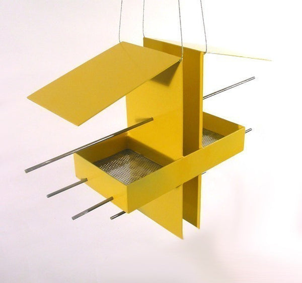 Duo Bird Feeder / Yellow