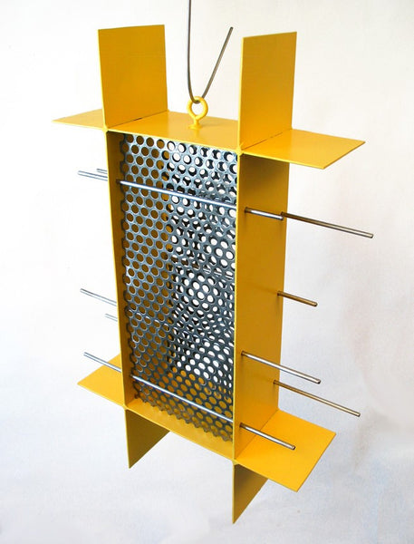 Sunscreen Bird Feeder / Yellow