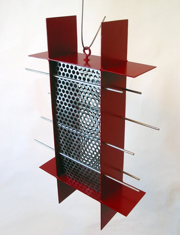 Sunscreen Bird Feeder / Ruby Red