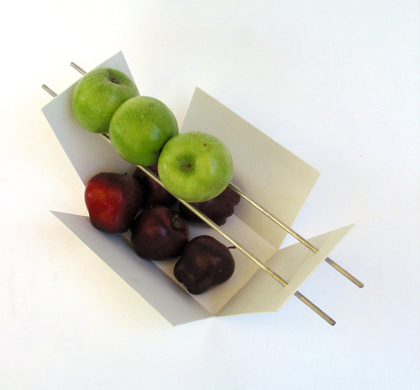 Modern Fruit Bowl / White