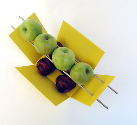 Modern Fruit Bowl / Yellow