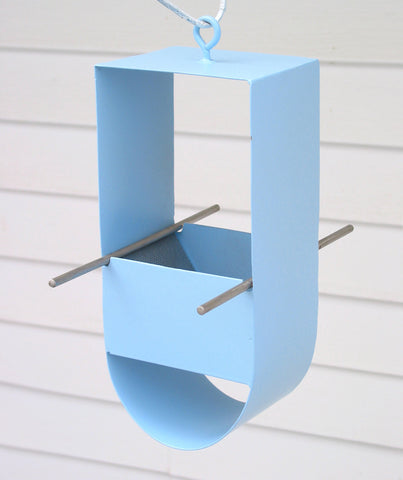 Cheep! Modern Bird Feeder / Pale Blue