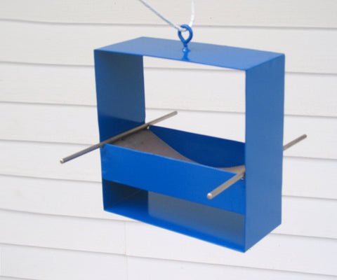 99 Modern Bird Feeder / Deep Blue