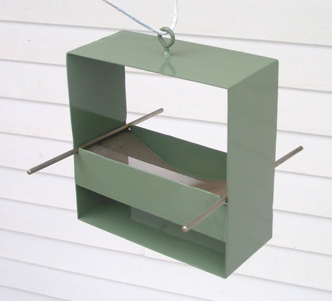99 Modern Bird Feeder / Sage Green