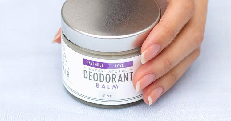 All-natural Fair-trade deodorant from Simply Fair