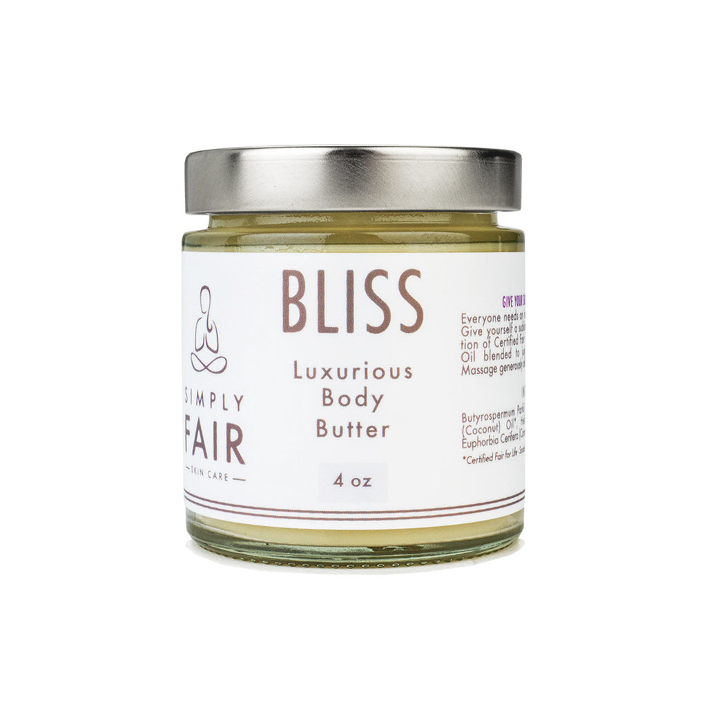 bliss luxurious body butter