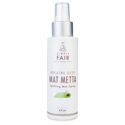 MAT METTA - Breathe Deep Natural Yoga Mat Spray