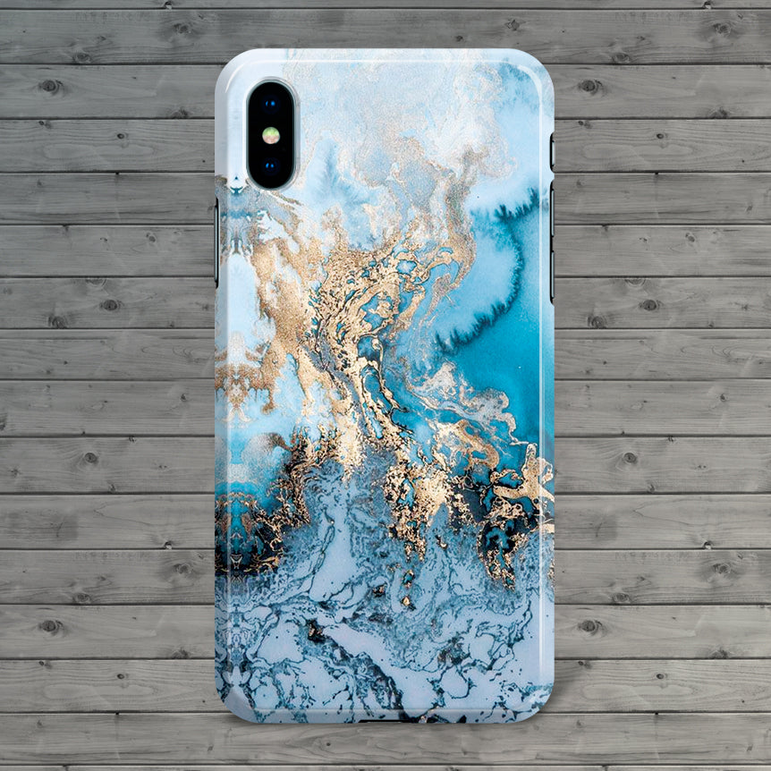 Marble iPhone 6 Plus Back Cover - Flat