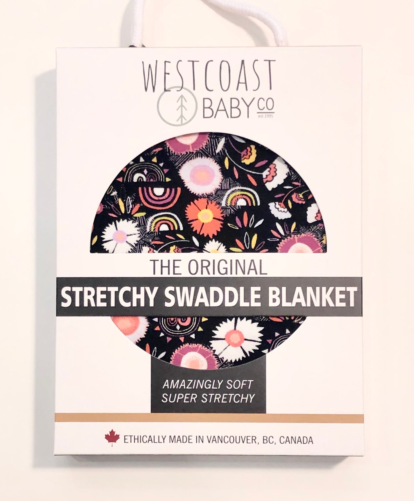 Sample Sale! Sidney Swaddle Blanket and Bonus Hat Set - Westcoast Baby