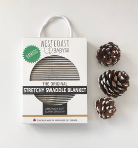 Sample Sale! Garibaldi Bamboo Swaddle Blanket - Westcoast Baby