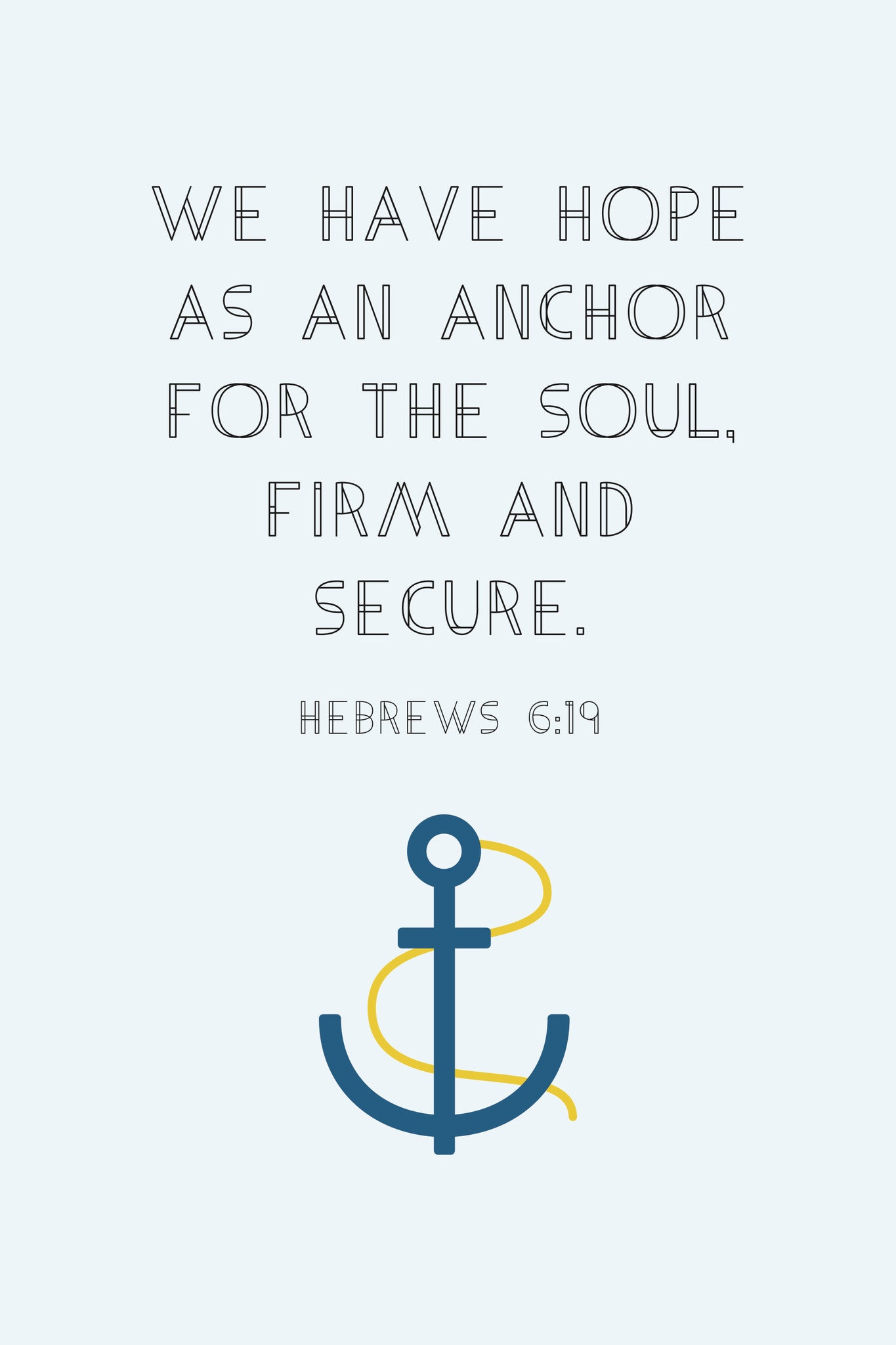 Anchor Spiritual Sign