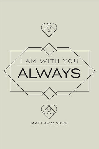 """I Am Always With You"" Spiritual Sign"
