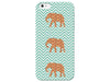 Mint Green Elephants Phone Case