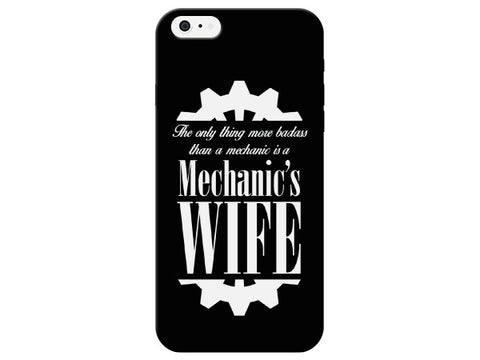 Gear Print Mechanic's Wife Phone Case