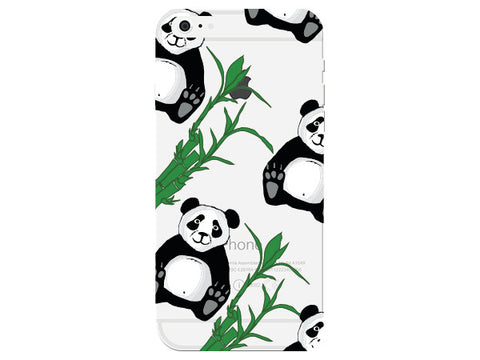 Panda Clear Phone Cover