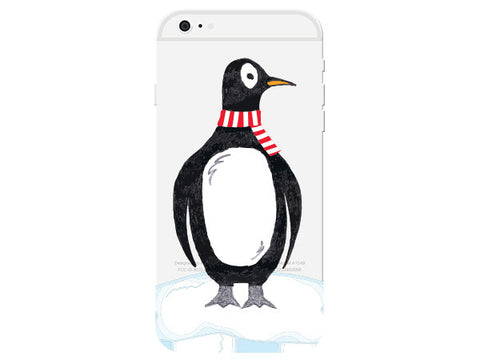 Penguin Clear Phone Cover