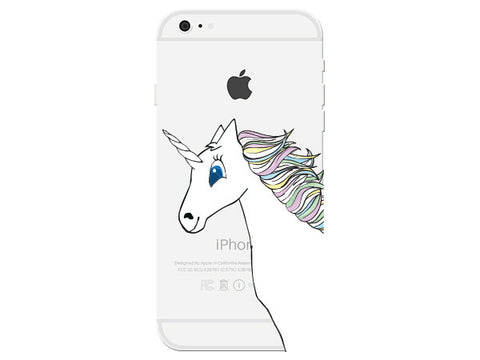 Unicorn Clear Phone Cover