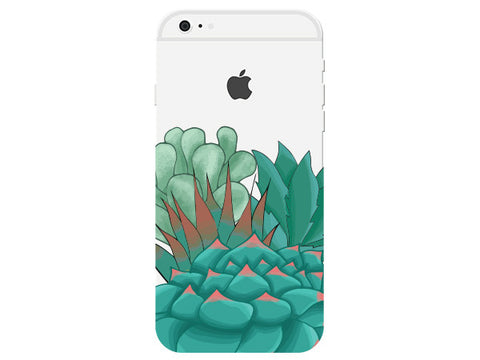 Succulent Clear Phone Cover