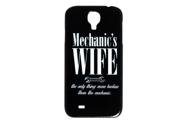 Wrench Picture Mechanics Wife Plastic Phone Case