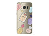Fashion Perfume Collage Clear Phone Cover