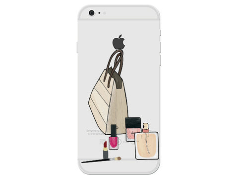 Fashion Purse Clear Phone Cover