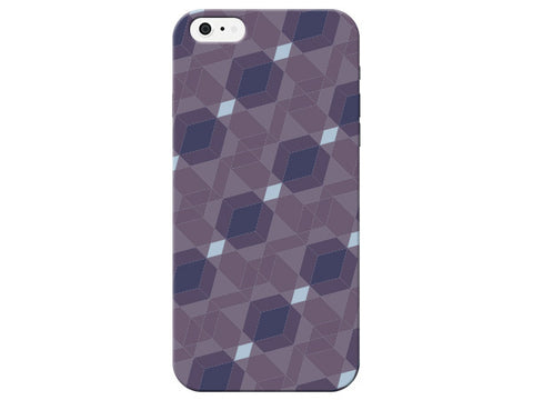 Purple & Blue Geometric Phone Cover