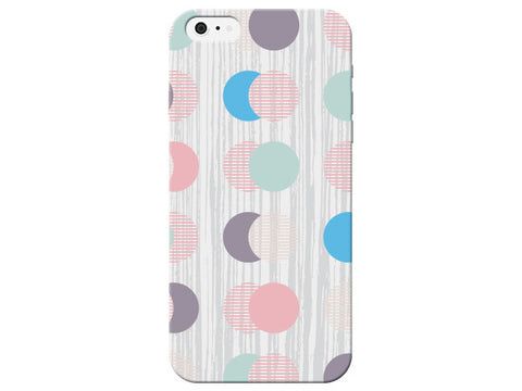 Circles & Moons Pastel Phone Cover