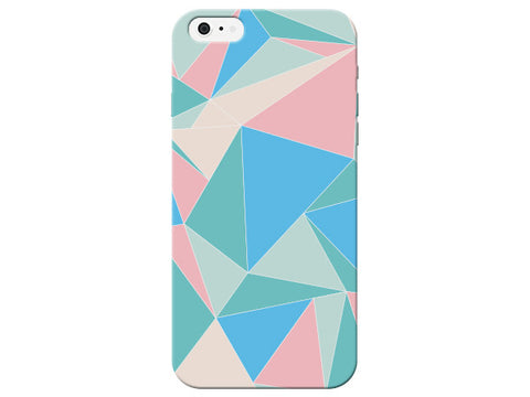 Triangle Geometric Pink Pastel Pattern  Phone Cover