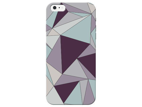 Triangle Geometric Purple Pastel Pattern  Phone Cover