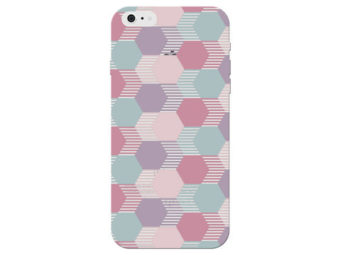 Hexagon Geometric Pink Pastel Pattern  Phone Cover