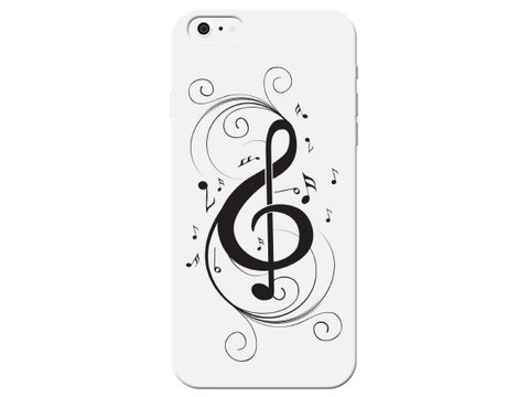 Swirl Music Note Treble Clef Phone Case