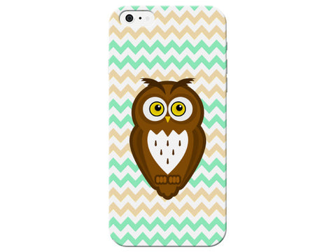Chevron Owl Phone Case